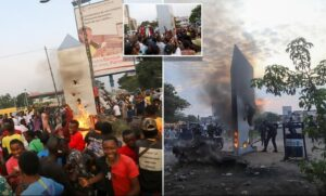 Таинственный монолит в Конго был уничтожен разъярённой толпой