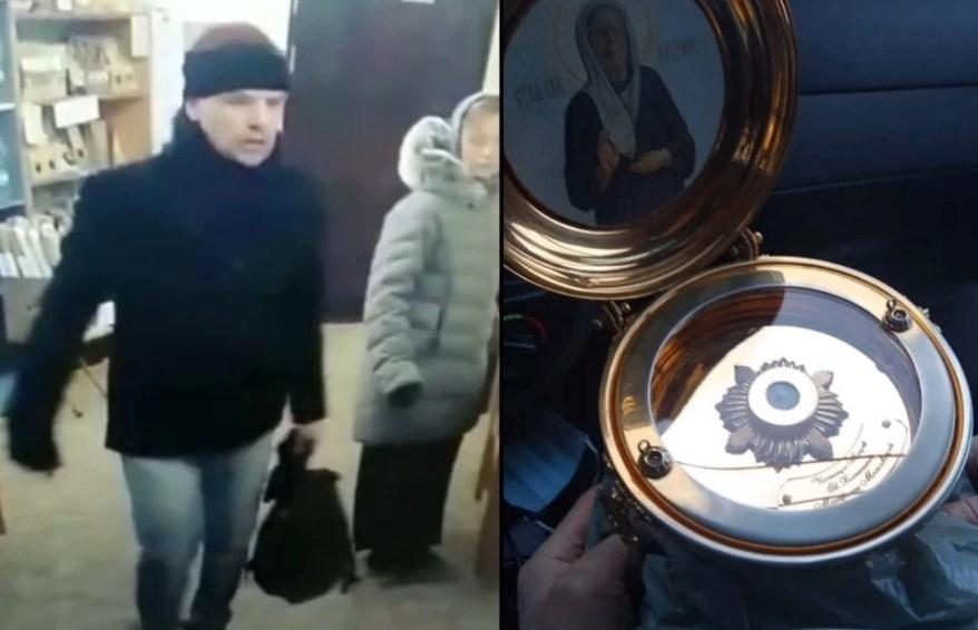 Украл из монастыря мощи Матроны Московской