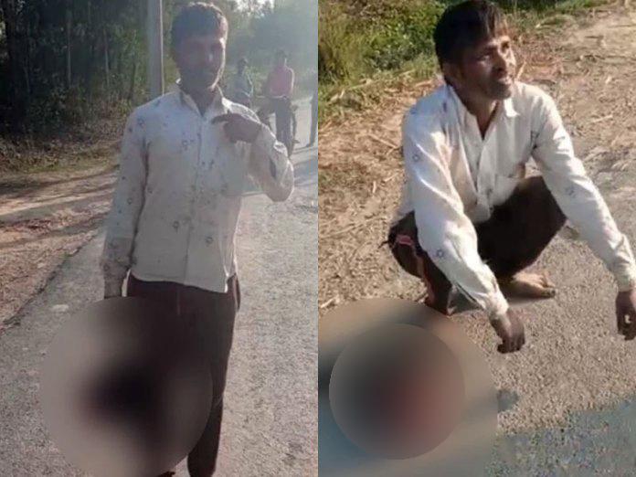 Индиец отрубил голову собственной дочери